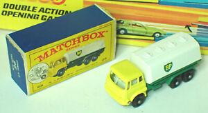 Matchbox 25c Bedford Petrol Tanker Mint in Near Mint Box