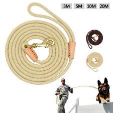 3/5/10/20M De Largo Perro Cuerda de seguimiento de capacitación de recordar obediencia conduce Correa Para Mascota