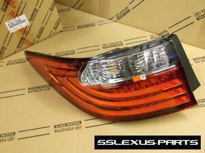 Lexus ES350 ES300H (2013-2015) OEM Genuine Driver Side LH LED TAIL LIGHT