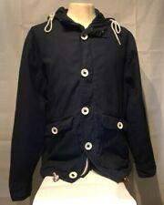Mens Navy Blue Burton Jacket Large USED
