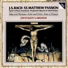 JOHN ELIOT GARDINER - MATTHÄUS-PASSION (QS) CD NEU