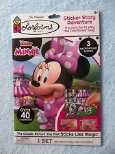 Colorforms Disney Junior Minnie Sticker Story Adventure - OVER 40 Colorforms!
