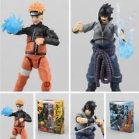 Collection Japanese Anime NARUTO SHIPPUDEN Uzumaki Naruto ACTION Ver. Figure Toy