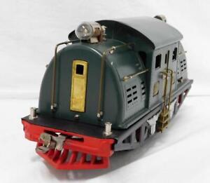Beautiful Restored Prewar Lionel Standard Gauge #380 Electric Engine 0-4-0 needs