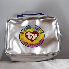 Beanie babies Official Club Silver Bag