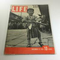Vintage Life Magazine: November 21 1938 - Little Tycoon