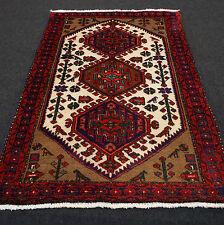 Orient Teppich Brücke 153 x 110 cm Beige Rot Perserteppich Red Carpet Rug Tapijt