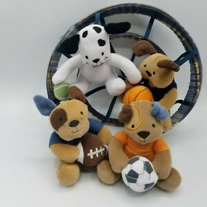 Lambs & Ivy Baby Nursery Crib Mobile. Sports Dogs. Bow Wow Buddies Collection.