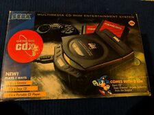 Sega Genesis CDX Console (NTSC) in Box & Tested - original owner - all contents
