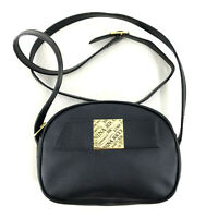 Authentic NINA RICCI Shoulder Bag in Black