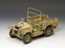 King & Country's AK077 AK Captured Morris CS8 15cwt. Truck WWII Model Miniature