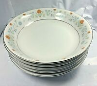 """Set of 5 Baum Bros Brothers 9"""" Bowls VICTORIAN Fine China Vintage Free Shipping"""