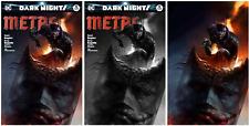 Dark Nights Metal #5 Mattina Exclusive Batman Who Laughs Set  3000/600/600 NM