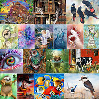 5D DIY Full Drill Diamond Painting Animal Cross Stitch Embroidery Wall Art Decor