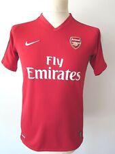 NIKE 2008/10 Arsenal London #4 FABREGAS Boys Soccer Jersey Shirt Home XL 13-15Y.