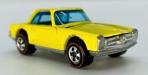 1973 RARE LEMON YELLOW ENAMEL Redline MERCEDES BENZ 280SL BEAUTIFUL & SHARP! WOW
