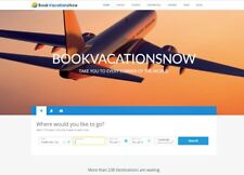 Established Super Profitable TRAVEL BOOKING Website BUSINESS For Sale