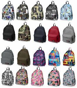 Eastpak PADDED PAK'R Backpack / School Bag / Rucksack 24L EK620008 Black/ Grey