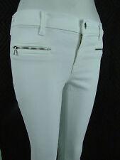 J BRAND 8033 PHOTO READY SKINNY CROP MidRise Zipper Women Jeans 26 BLANC WHITE