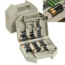 Battery Case With Tester - Compact Case Holds Up to 40 Batteries - Organizer