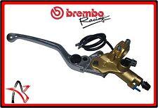 Pompa freno Brembo racing psc 15 tangenziale serie oro con switch