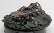 Warhammer 40k Terrain Scenery Wrecked Buried Space Marine Land Speeder Storm