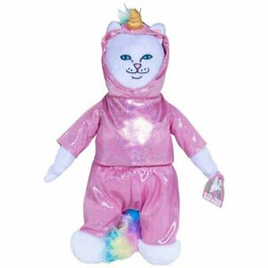 New Ripndip Lord Nermal Unicorn Plush Doll Rip N Dip