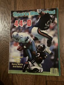 1985 Sports Illustrated Chicago Bears Singletary No Label