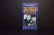 THE ROAD TO VICTORY RATTLING THE SABER VHS TAPE - NEW