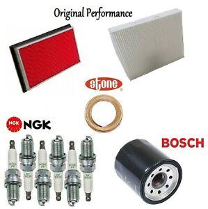 Tune Up Kit Cabin Air Oil Filters Spark Plug for Infiniti FX35 V6 3.5L 2003-2004