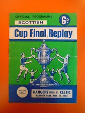 Scottish Cup Final Replay - Rangers v Celtic - 15th May 1963