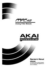 Akai MFC42 Analog Filter Module Owners Instruction Manual