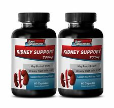 Urinary Tract Cleanse - Kidney Support 700mg - With Ginger Root Powder Pills 2B