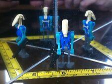 LEGO Mini Figure Man Star Wars Trade Federation Blue Lego Man
