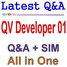QlikView 11 Developer Certification Examination QV_Developer_01 Exam Q&A PDF+SIM