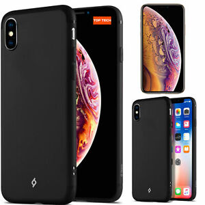 Genuine TTEC Airflex Protective SILICONE Case Cover For Apple iPhone X XR XS
