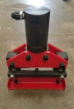 Hydraulic Busbar Metal  Guillotine shear  30 Ton 200mm width 12mm