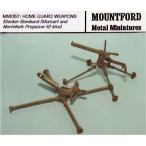 Mountford Metal Miniatures - MM067 Home Guard Weapons