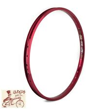 "SUN RINGLE RYHNO LITE XL 36H---24"" x 1.75 RED BICYCLE RIM"