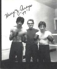 Harry Arroyo Autographed 8.5x11 Photo COA