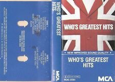 THE WHO  :  GREATEST HITS   ( MCA , CANADA)