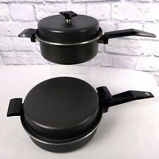 New listing Miracle Maid cookware 2 pc. Set- 2.5 qt. Saucepan, 2 qt. Saucepan/Stock Pot