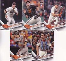 2017 TOPPS UPDATE SAN FRANCISCO GIANTS team set (5 cards) SLATER, ARROYO RC
