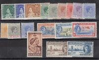 Bahamas KGVI 1938/48 Sets x 3 To 1/- MLH J9547