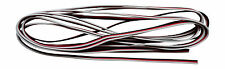 Apex RC Products 3m / 10' 22 Awg White Red Black Futaba Style Servo Wire #1220