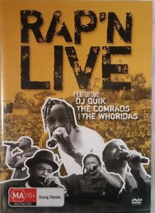 RAP N LIVE DVD Concert DJ Quik -  90's Freestyle Hip Hop