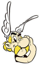 "Asterix whispering sticker decal 3"" x 5"""