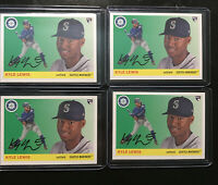 2020 Topps Archives Kyle Lewis RC Lot Of 4