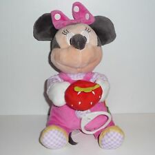 Doudou Souris  Minnie Disney Fraise Musical