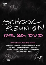 SCHOOL REUNION THE 80S - 2004 DURAN DURAN, DIANA ROSS, KIM WILDE NEW UK R2 DVD